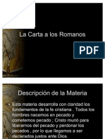 Carta a Los Romanos Clases en Power Point.