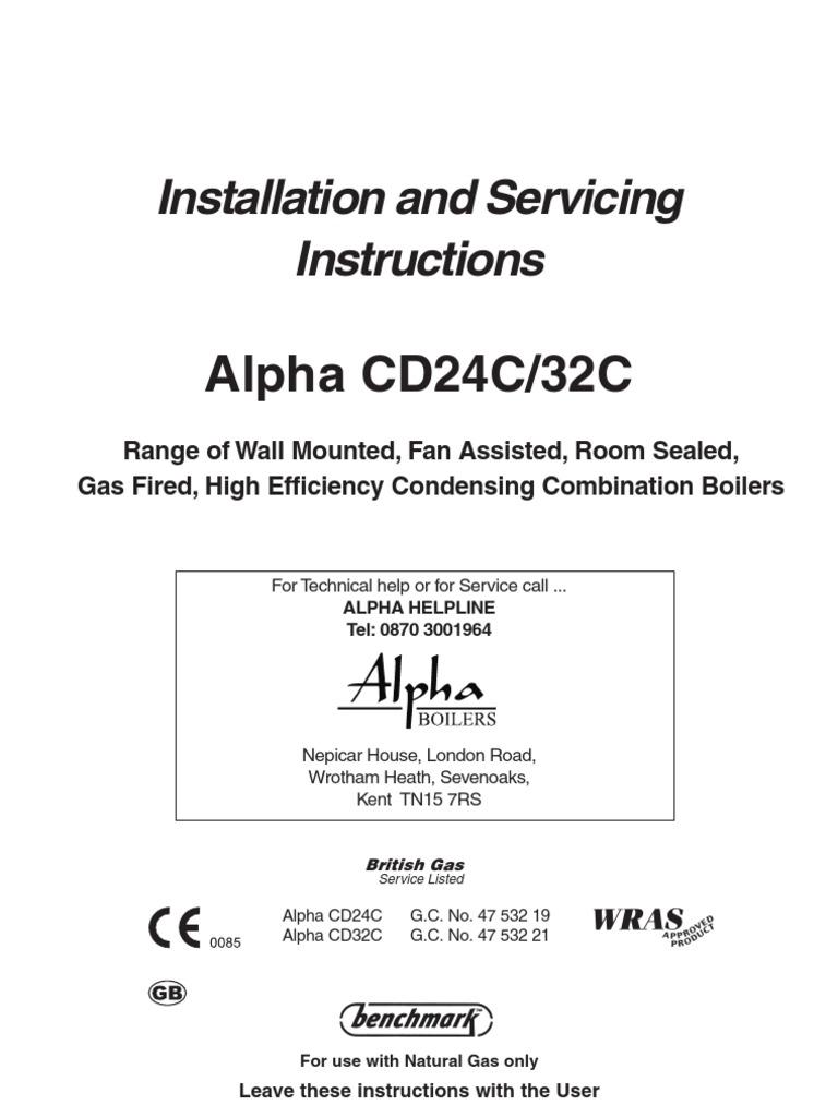 Alpha Boiler1 Water Heating Tap Valve Boilers Wiring Diagrams