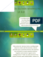 Configurando a Rede Wireless No LE 4.0