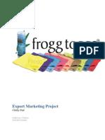 Export Project PDF