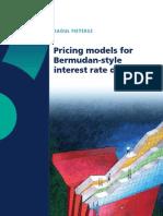 Bermudan Pricing