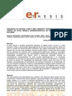 Geografia Da Riqueza Forme Meio Ambiente Carlos Walter