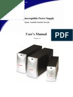 Prolink 600-1200 Manual
