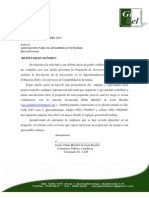 PROPUESTA DE HONORARIOS PARA ASOCIACIÓN