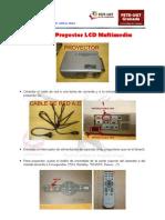 Uso Del Proyector LCD Multimedia