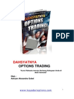 Dahsyatnya Options Trading