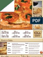 1900 Pizzeria - Cardápio Viagem