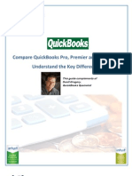 Differences Between Quick Books Pro Premier Enterprise