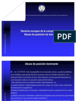 Abuso de Posicion Dominante 2011-2012