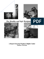 Healthy and Safe Workplace Project Report Jan 2011