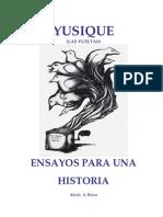 Ensayos Para Una Historia (Alexis Rivas)