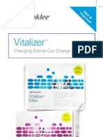 Smart Delivery System Shaklee Vitalizer Natural Vitamins