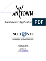 facilitrainer application anytown 2012 form