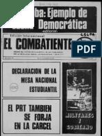 El Combatiente, nº 181, 3 de septiembre de 1975