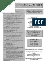 Revista Spatii Culturale nr.20