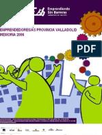 Memoria Emprendedores Provincia Valladolid Esb