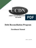 """""""CCDN Enrollment Manual"""" - ccdnscam.com"""