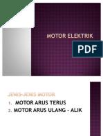 Motor Elektrik