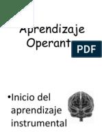 Aprendizaje Operante