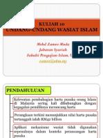 12 Undang-Undang Wasiat Islam