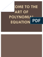 Polynomial Function for Thesis