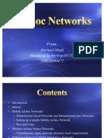 Ad Hoc Networks1