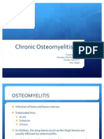Ortho - Chronic Osteomyelitis