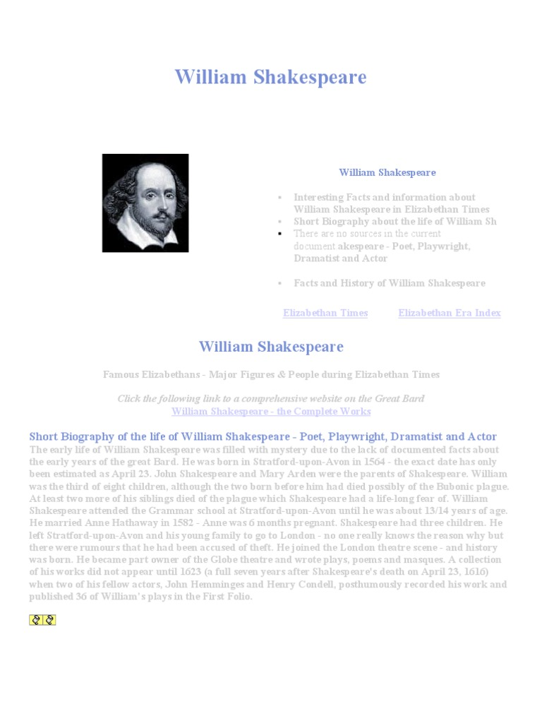Essays About Service  Romeo And Juliet Theme Essay also Color Of Water Essay William Shakespeare  William Shakespeare  English Renaissance Arguments For Essay Topics