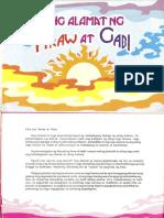 Ang Alamat Ng Araw at Gabi - Lem Garcellano, Ronald Mina at Chuck Escasa - Aklat Batibot