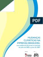 Mudanças Climáticas Na Imprensa Brasileira