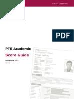 PTEA Score Guide