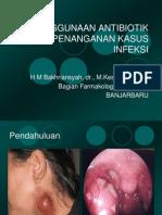 Antibiotik Pada Penanganan Kasus Infeksi