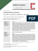 (Español) Toxicidad pulmonar por hiperoxia [2010]