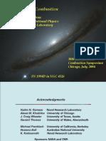 Elaine S. Oran- Astrophysical Combustion
