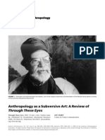 Visual Anthropology Review of Through These Eyes