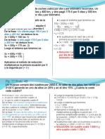 Solución a los problemas propuestos en 4º ESO B