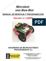 Manual Del Home Boe-Bot en Caste Llano V3.1 (2005)