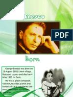 George Enescu (in Engleza)