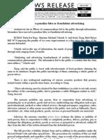 jan28.2012_c Solons seek to penalize false or fraudulent advertising