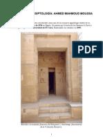Historia de la Egiptología. Ahmed Moussa