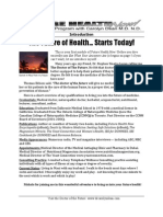 Future Health Now-module 1