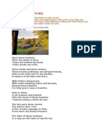The Winds of Yore - Recollections of a Postman - Poem - Subramanian A