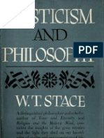 Stace, Mysticism and Philosophy