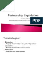 Accounting for Partnership Liquidation_Jan 12