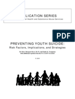 Preventing Youth Suicide