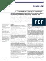 bmj.pneumococcal vaccine2010