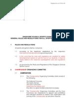 SSSC General Rules & Regulations 2011 - Dtd 19 Jan 2011