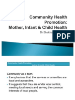 Community Health Promotion