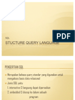 Stucture Query Language