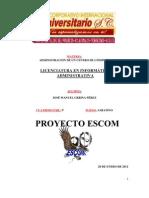 PROYECTO ESCOM CC